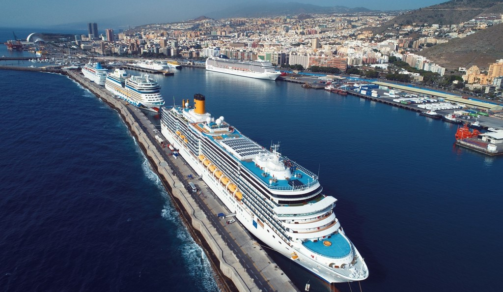 Tenerife Quickly Becoming Key Cruise Hub