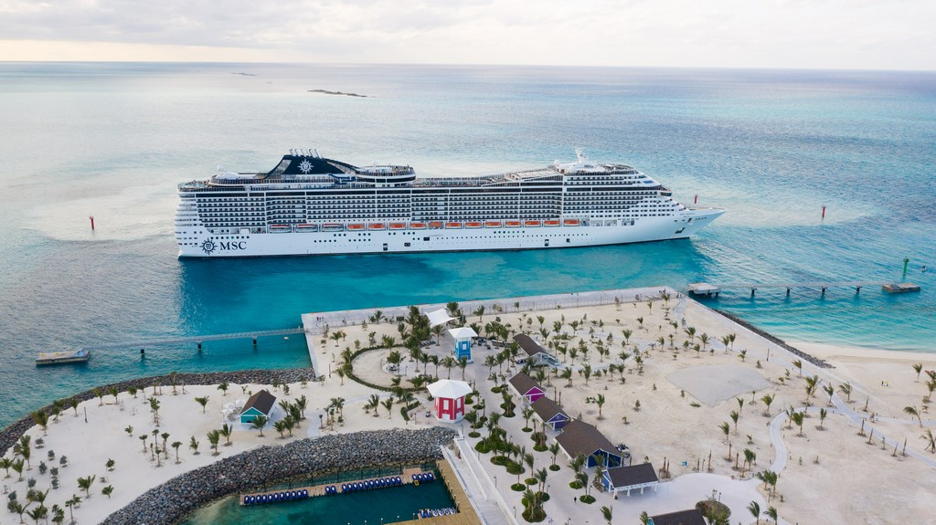 MSC Ocean Cay Opens (AP Images for MSC Cruises)