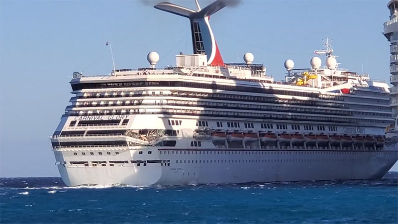 Carnival Glory Update; Ship to Be Repaired, Next Cruise on ...