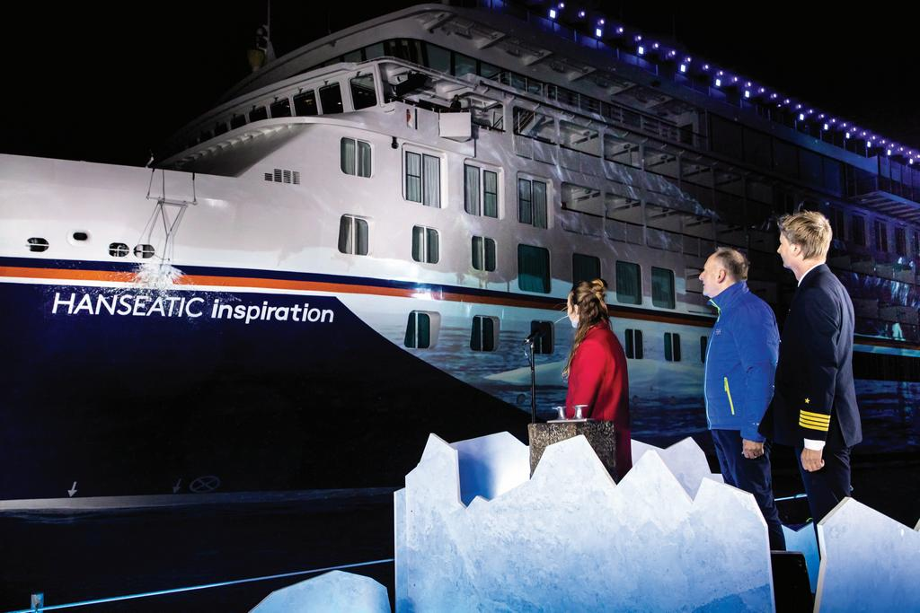 Hapag Lloyd Names Hanseatic Inspiration Cruise Industry