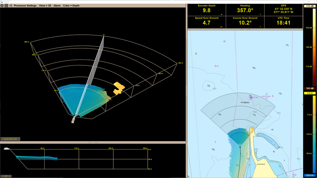 Farsounder Sonar Screenshot