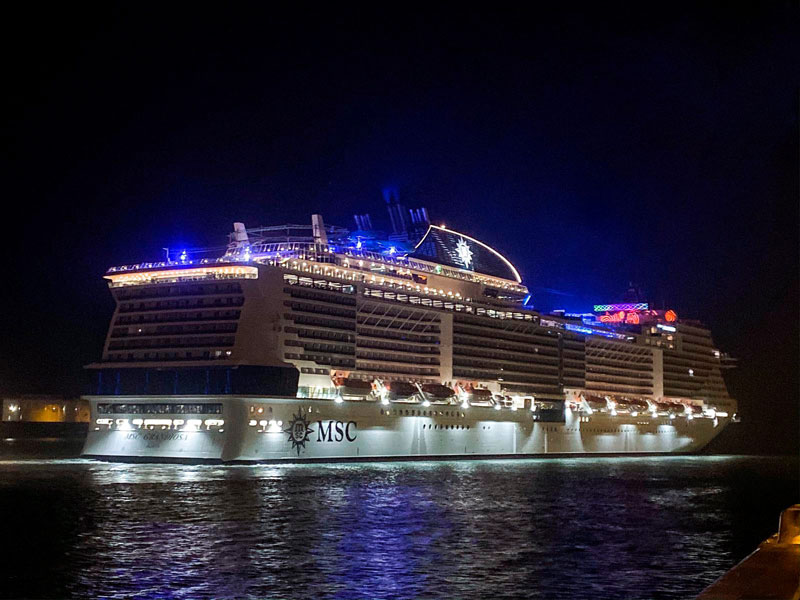 MSC Grandiosa Calls in Le Havre - Cruise Industry News ...