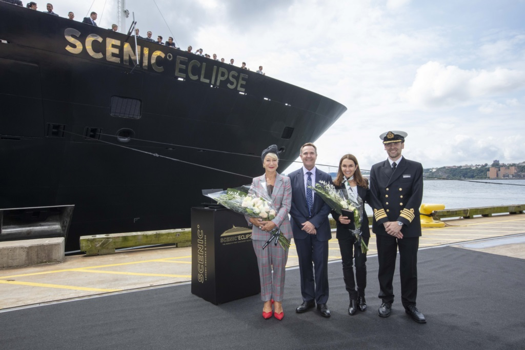Scenic Eclipse Christening