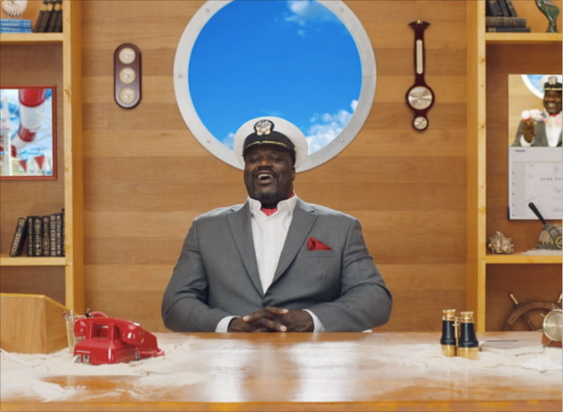 Shaquille O'Neal Stars in New Carnival Safety Video