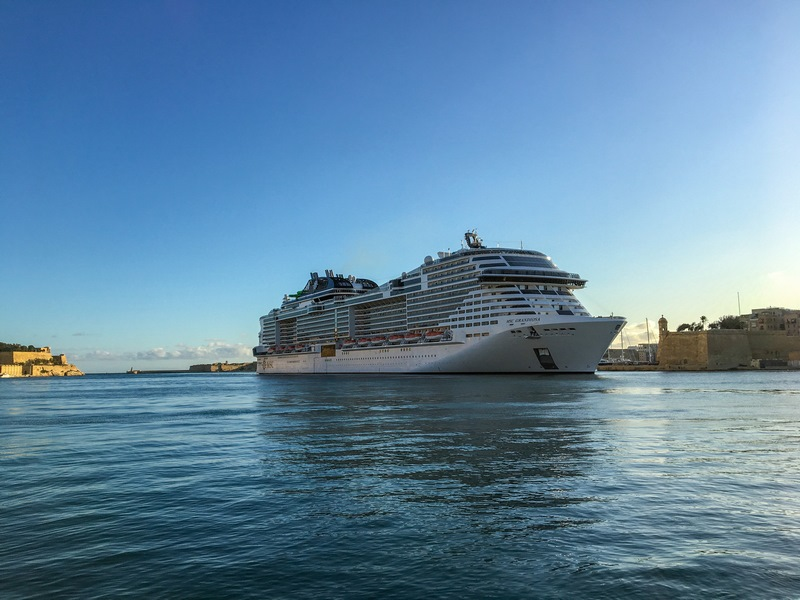 Valletta Set for MSC Grandiosa Call - Cruise Industry News ...