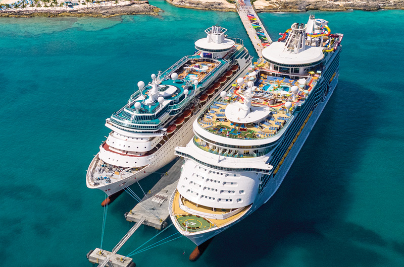 Royal Caribbean Ships at CocoCay
