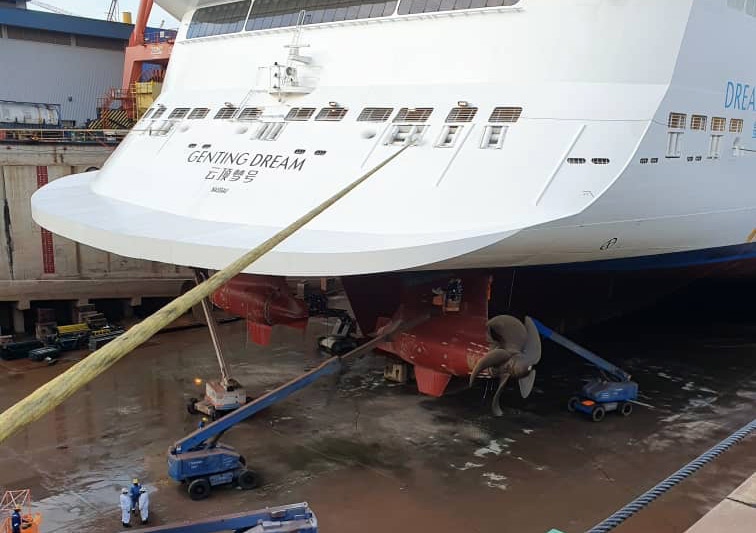 Genting Dream Drydock
