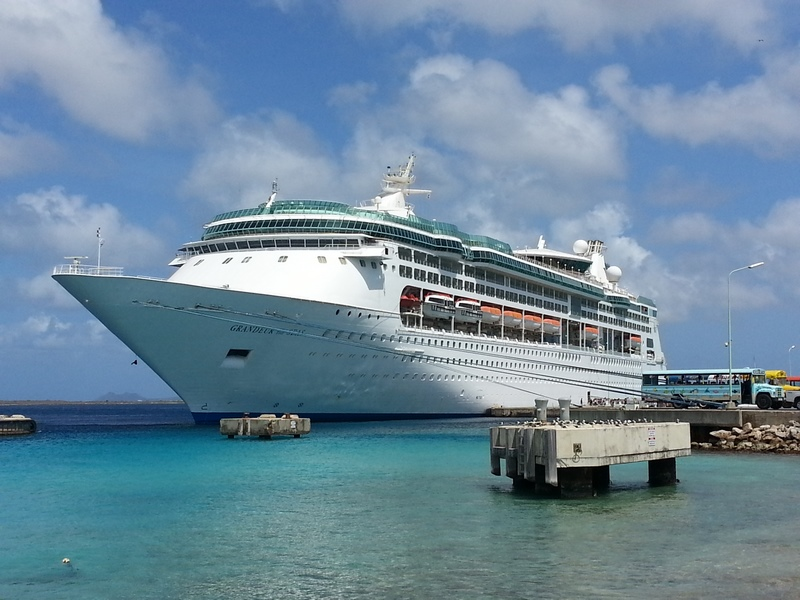 Grandeur of the Seas in Bonaire