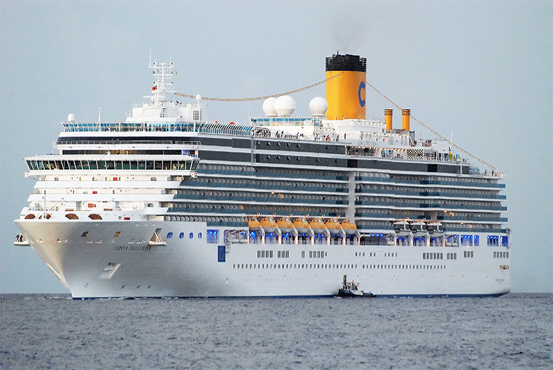 Carnival's Shares Surge As Costa Cruises Prepares To