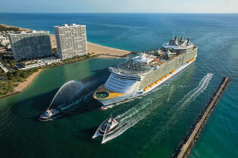 Oasis of the Seas in Miami (Photo: Royal Caribbean)