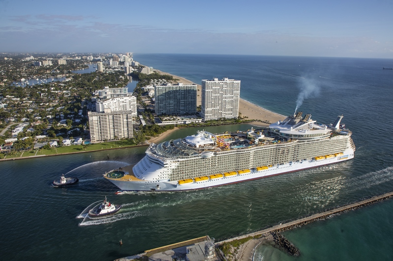 Oasis Arrives in Port Everglades