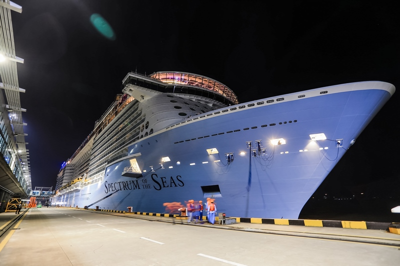 Dawn Before Sunrise In China For Royal Caribbean Cruise Industry News Cruise News
