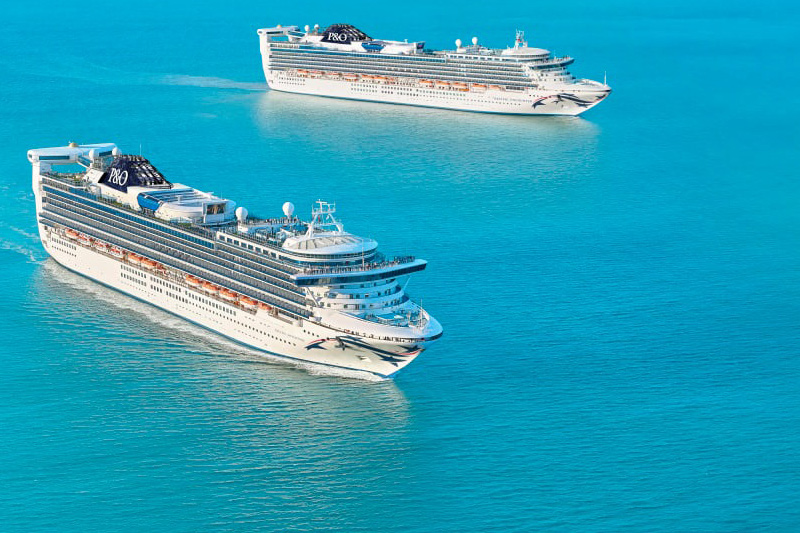 Two new ships are heading to P&O Australia from Princess Cruises