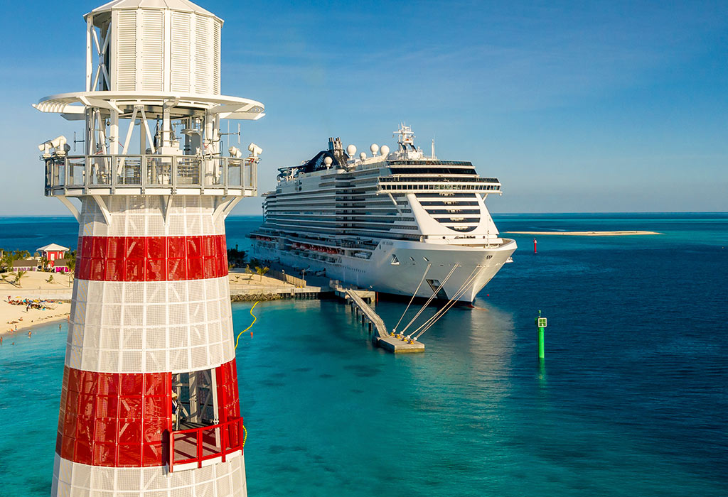 MSC Seaside at Ocean Cay