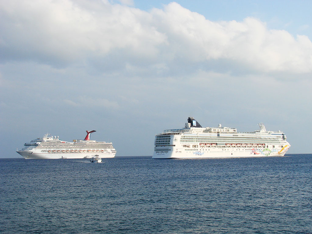 Ships in the Cayman Islands