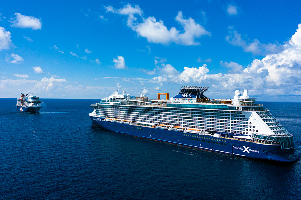 Celebrity Apex Sails from Greece with Guests Onboard