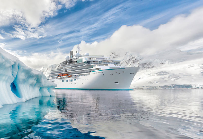 Crystal Endeavor (Photo: Crystal Cruises)