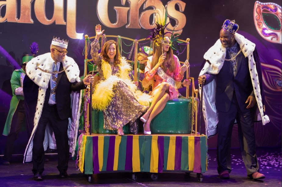 New Carnival Mardi Gras Christened at Port Canaveral