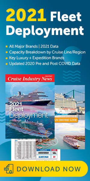 Cruise Industry News 2021 Fleet Deployment