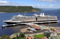 The Maasdam calls in Saguenay
