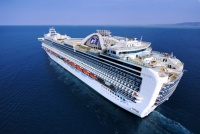 In North America, Princess is an international product, Buckelew said, fitting comfortable in the Carnival Corporation family between Carnival Cruise Lines and Holland America Line.
