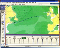 Weather routing software