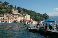 Passengers tendering in to Portofino.