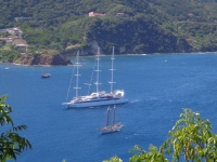 Photos: Le Ponant at les Saintes, Guadeloupe