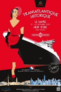 Cunard To Sail Trans-Atlantic from Le Havre to Celebrate 500th Anniversary
