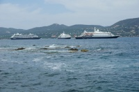 St. Tropez: First Time, Five Ships on Same Day