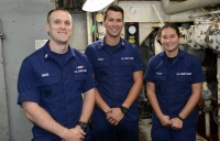 Coast Guard Recognizes Crew Members Aboard Polar Star