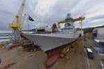 Photo: Fincantieri Launches Third Multi-Mission Frigate