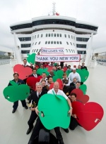 Cunard Line Shows Love for New York City