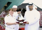 Zayed Port Welcomes the Queen Elizabeth