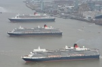 Photos: Cunard's Three Queens