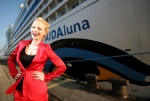 The AIDAluna was christened by German model Franziska Knuppe in Palma de Mallorca on April 4.