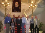 Industry executives at the MedCruise conference in Cartagena.