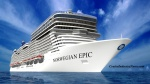 Norwegian Cruise Line today unveiled the first images of its new 153,000-gross ton, 4,200-passenger Norwegian Epic