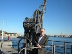 Arnt Moller Pedersen, general manager of cruise and ferries at Copenhagen Malmo Port