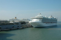 The Star Princess at Isonzo 2
