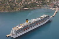 The Costa Mediterranea is in Alanya today with 2,661 passengers onboard, breaking the previous record of 2,627 set in June.