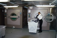 Laundry room on the Allure of the Seas
