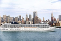 MSC sails from New York on Canada/New England routes in the fall