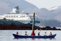 Celebrity calls in Icy Strait Point (photo: Icy Strait Point)