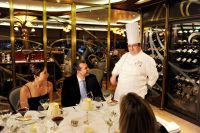 At Disney Cruise Line, Ozer Balli, vice president of hotel operations, described the line's new specialty restaurant Remy as Disney's premier dining option, reflecting not just the price of $75 (not including wine pairing), but also the attention to detail and quality of ingredients.