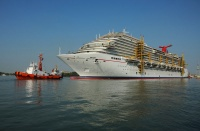 The Carnival Breeze at Fincantieri