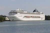 MSC Lirica in the DR