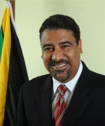 Dr.  Wykeham McNeill, Jamaica's Minister of Tourism and Entertainment