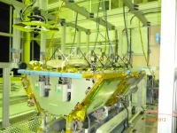 O3b satellite in final assembly stage