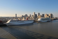 Carnival and Royal Caribbean in New Orleans